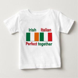 Italiensk irländare - perfekt tillsammans! t-shirt