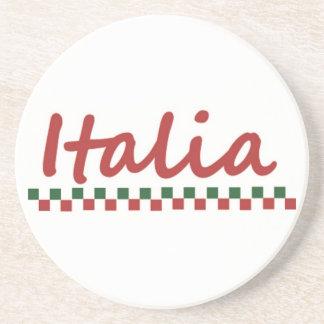 """Italiensk """"Italia"""" italienkustfartyg Dryck Underlägg"""