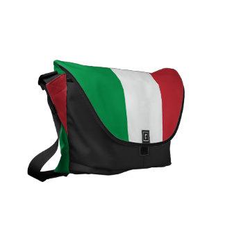 Italiensk italien för flaggamessenger bag   Tricol Kurir Väska