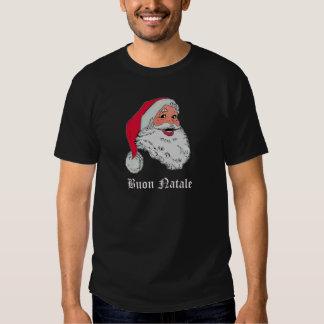 Italiensk jultomten tee shirts