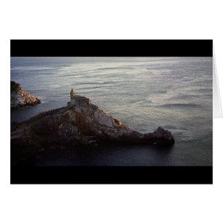 Italiensk kusten hälsningskort