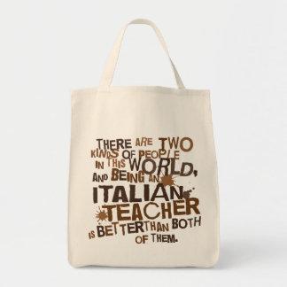 Italiensk läraregåva mat tygkasse