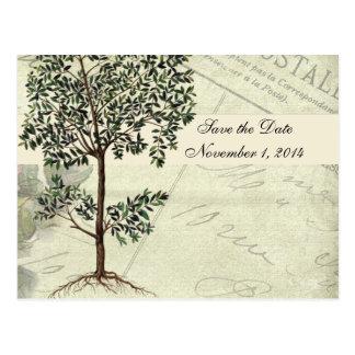 Italiensk myrtenspara för vintage datera vykort