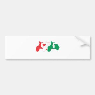 Italiensk sparkcykel bildekal