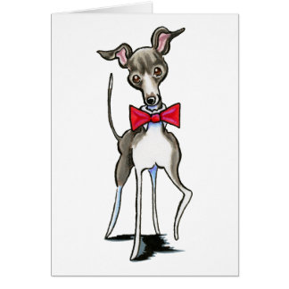 Italiensk vinthund Antonio Hälsningskort