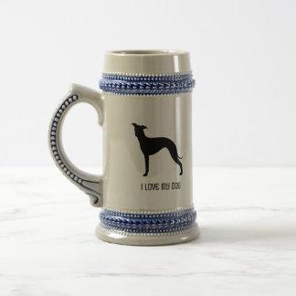 Italiensk vinthundSilhouette Sejdel