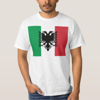 Italienska Arberesh, italienflagga Tshirts