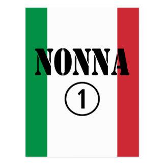 Italienska farmödrar: Nonna Numero Uno Vykort