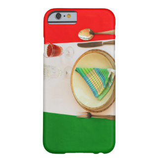 ITALIENSKT LAGA MAT FODRAL för IPHONE 6/6S Barely There iPhone 6 Fodral