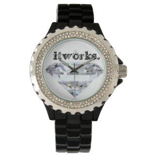 Itworks skennågot liknande en diamant armbandsur