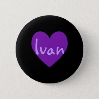 Ivan i lilor standard knapp rund 5.7 cm
