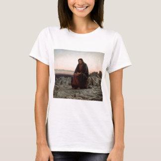 Ivan Kramskoy- Kristus i Vildmarkkonsten Tee Shirts