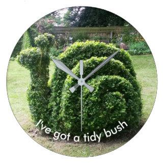 I've fick en tidy buske. Den unika Topiarysnigeln Stor Klocka