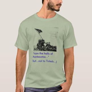 """Iwo Jima """"ja"""".   Toledo """"inte """", Tee Shirt"""