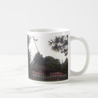 Iwo Jima minnesmärke Kaffemugg