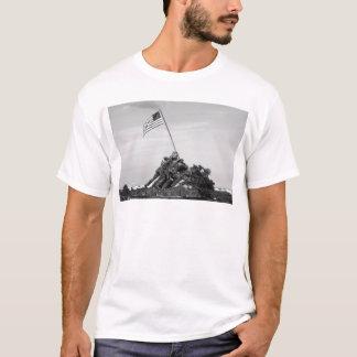 Iwo Jima minnesmärke T-shirt