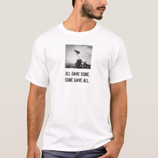 Iwo Jima - Tacitus (vända om), 2 Tee Shirts
