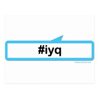 IYQ (jag gillar dig), Vykort