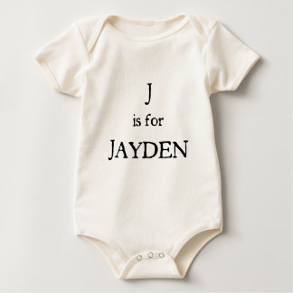 J är för Jayden Bodies För Bebisar