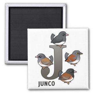J är för Junco Magnet