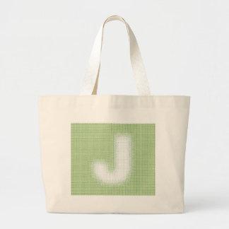 J-Monogram Tygkasse