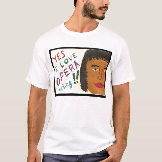 Ja älskar jag den bedårande T-tröja för operan vid Tee
