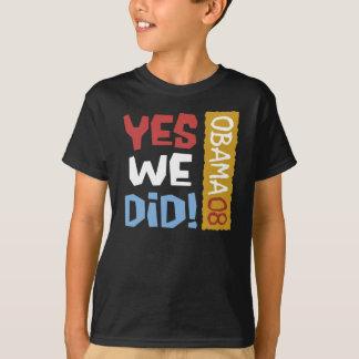 Ja gjorde vi T-tröja Tee Shirts