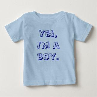 Ja I-förmiddag en boy. Tee Shirt