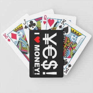 Ja! Jag älskar pengar! Spelkort