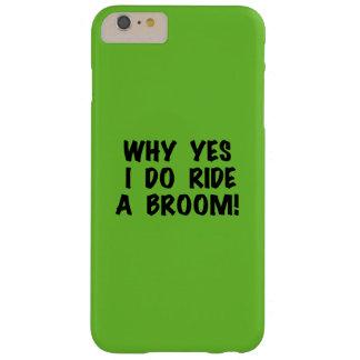 Ja rider jag en kvast barely there iPhone 6 plus skal