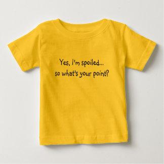 Ja spolierade I-förmiddagen… så vad är din pekar? T Shirt