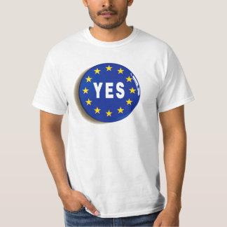 Ja till EG - stag i Europeiska unionen T Shirt
