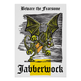 Jabberwocky Posters