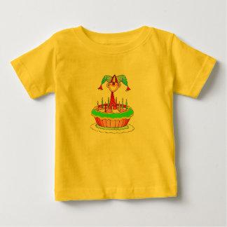 Jack i designen för tårtaanpassadefödelsedag t-shirts