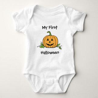 Jack o lanternbaby första Halloween T Shirt