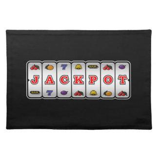 Jackpotenarmad banditbordstablett (mörk) bordstablett