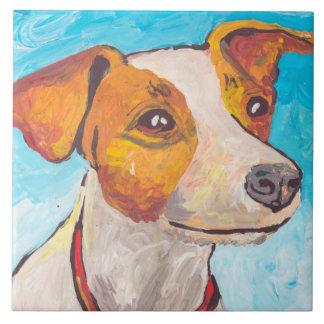 JackRussell Terrier Kakelplatta