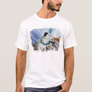 Jackrussell terrier. t shirts