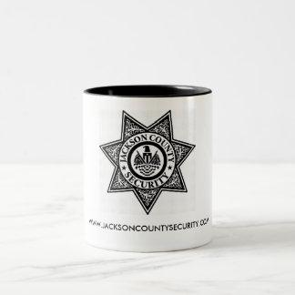 Jackson County säkerhetsmugg Två-Tonad Mugg