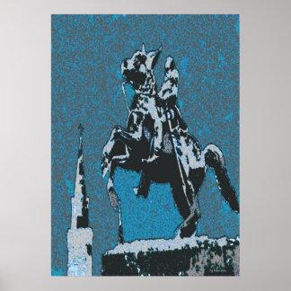 Jackson häst Blue14 Poster