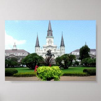 Jackson kvadrerar, New Orleans Poster