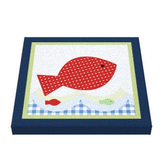Jackson-//Whale/Fishkanvastryck Canvastryck
