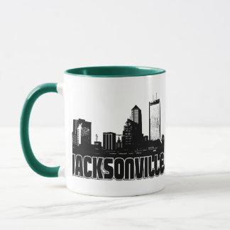 Jacksonville horisont mugg