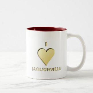 Jacksonville -- Kräm Två-Tonad Mugg
