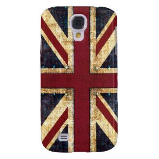 jackUnited Kingdom för grunge facklig flagga Galaxy S4 Fodral