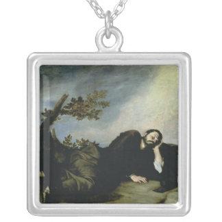 Jacob dröm, 1639 silverpläterat halsband