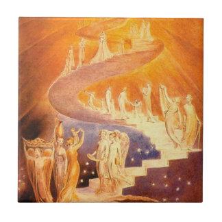 Jacob dröm av William Blake Kakelplatta