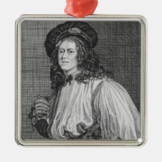 Jacob Hall, den berömda repdansare, 1792 Julgransprydnad Metall