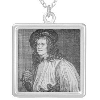 Jacob Hall, den berömda repdansare, 1792 Silverpläterat Halsband