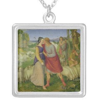 Jacob möter Rachel, 1827 Silverpläterat Halsband